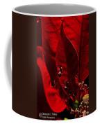 Christmas Velvet Coffee Mug