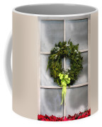 Christmas Windowpane Coffee Mug