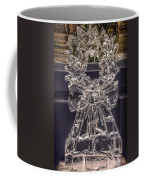 Christmas Wreath Ice Sculpture Coffee Mug