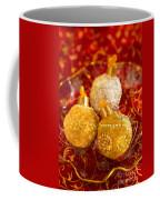 Christmasball Cupcakes In Red Coffee Mug