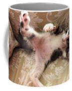 Christopher Paws Up Coffee Mug