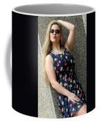 Christy Blue Minidress-40-2 Coffee Mug