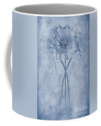 Chrysanthemum Cyanotype Coffee Mug