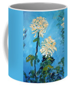 Chrysanthemum Floral Coffee Mug