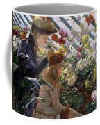 Chrysanthemums, 1890 Coffee Mug