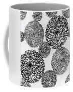 Chrysanthemums Coffee Mug by Japanese School