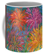 Chrysanthemums Like Fireworks Coffee Mug