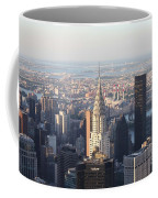 Chrysler Building From The Empire State Building Coffee Mug