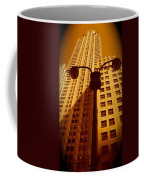 Rockefeller Building In Manhattan Coffee Mug