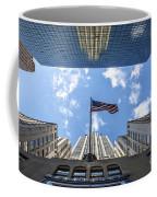 Chrysler Building Reflections Horizontal Coffee Mug
