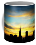Chrysler Skyline With Incredible Sunset Coffee Mug