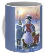 Chubby Snowman  Coffee Mug