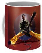 Chuck Berry - This Is How We Do It Coffee Mug by Reggie Duffie