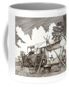 Chuckwagon Cattle Drive Breakfast Coffee Mug
