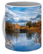 Church Across The River Coffee Mug