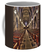 Church Aisle Coffee Mug