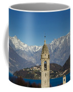 Church And Alps Coffee Mug