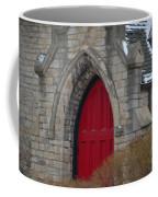 Church And The Red Door Coffee Mug