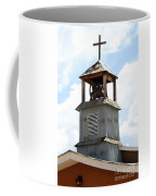 Church Bell Tower In Truchas In New Mexico Coffee Mug
