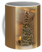 Church Christmas Tree Coffee Mug