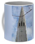 Church Clocktower Coffee Mug