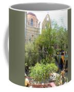 Church Courtyard Coffee Mug