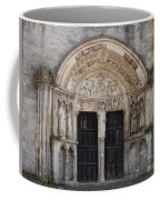 Church Entrance - St  Thibault Coffee Mug