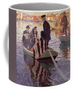 Church-goers In A Boat Coffee Mug