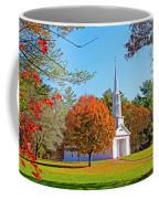 Church In Autumn Coffee Mug