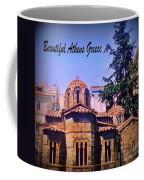 Church In Beautiful Athens Coffee Mug