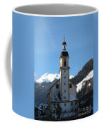 Church In The Austrian Alps Coffee Mug