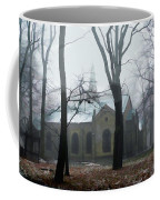 Church In The Misty Woods Coffee Mug