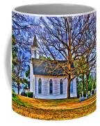 Church In The Wildwood - Paint Coffee Mug