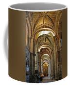 Church Interior Dordogne Region France Coffee Mug