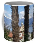 Church Madonna Del Sasso Coffee Mug