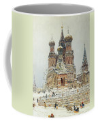 Church Of St. Basil In Moscow Coffee Mug