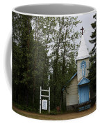 Church On Alaskan Highway Coffee Mug