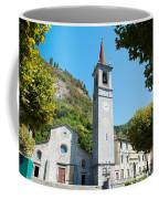 Church On Main Square, Varenna, Lake Coffee Mug