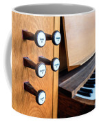 Church Organ Keyboard Coffee Mug