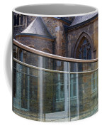 Church Seen Through A Transperant Screen  Coffee Mug