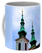 Church Steeples - Bratislava Coffee Mug