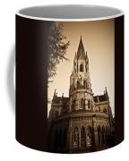 Church Towere In Sepia 1 Coffee Mug