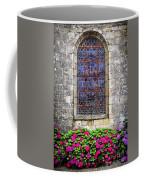 Church Window In Brittany Coffee Mug