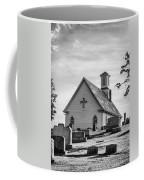 Churchyard Bw Coffee Mug