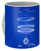 Cigar Holder Patent 1881 - Blue Coffee Mug