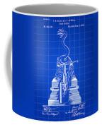 Cigar Lighter Patent 1888 - Blue Coffee Mug
