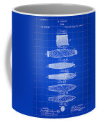 Cigar Patent 1887 - Blue Coffee Mug