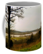 Cincinnati And The Ohio River Looking West Coffee Mug