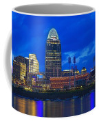 Cincinnati At Sunset Coffee Mug