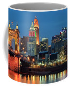 Cincinnati Blue Hour Coffee Mug